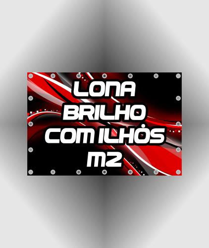 Lona Brilho 440gr Impressa +Reforço+Ilhós