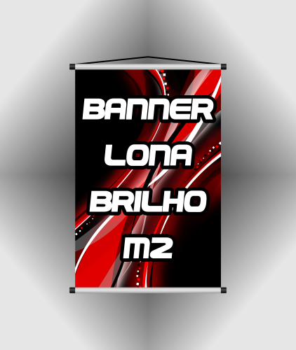 Banner Lona Brilho 440gr